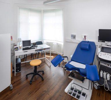 Die Frauenärzte Lörrach-Schopfheim Praxis Behandlungsraum